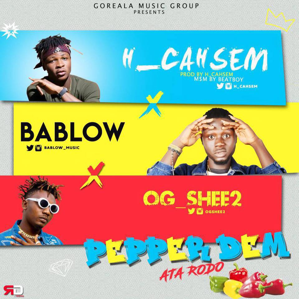 H Cahsem in Pepper Dem feat Ogshee2 & Bablow