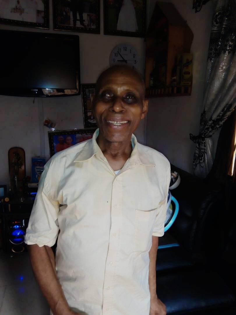 The deceased the late Elder Patrick Anele Ojimba