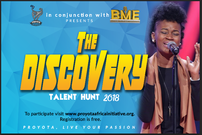 Be on the Road to Discovery and Win Recording Deal Worth over a Million Naira!