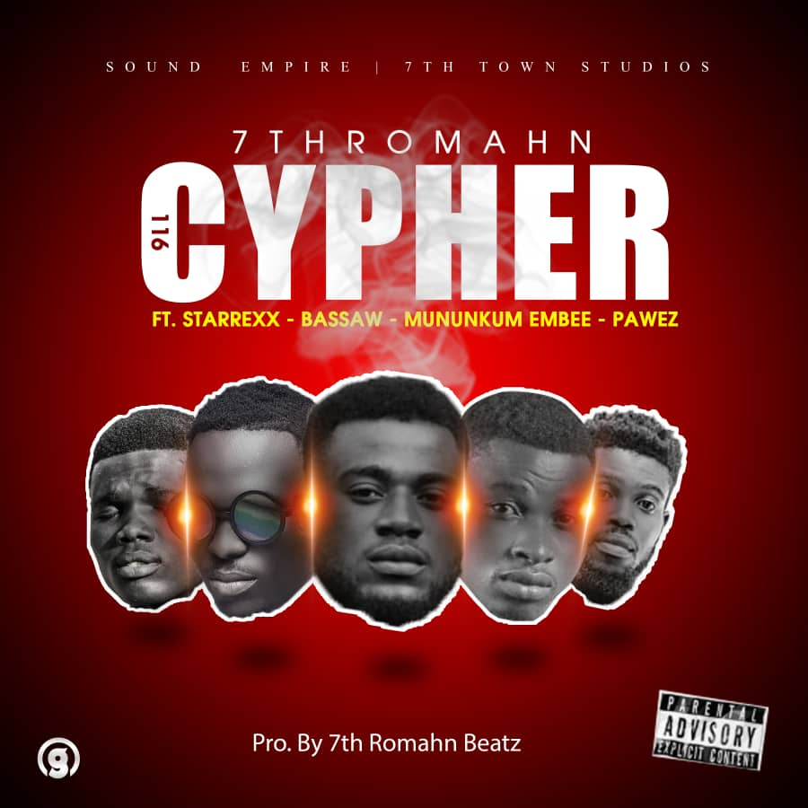 7th Romahn Sets November 29th for the Release of His first Studio Cypher (116 CYPHER)