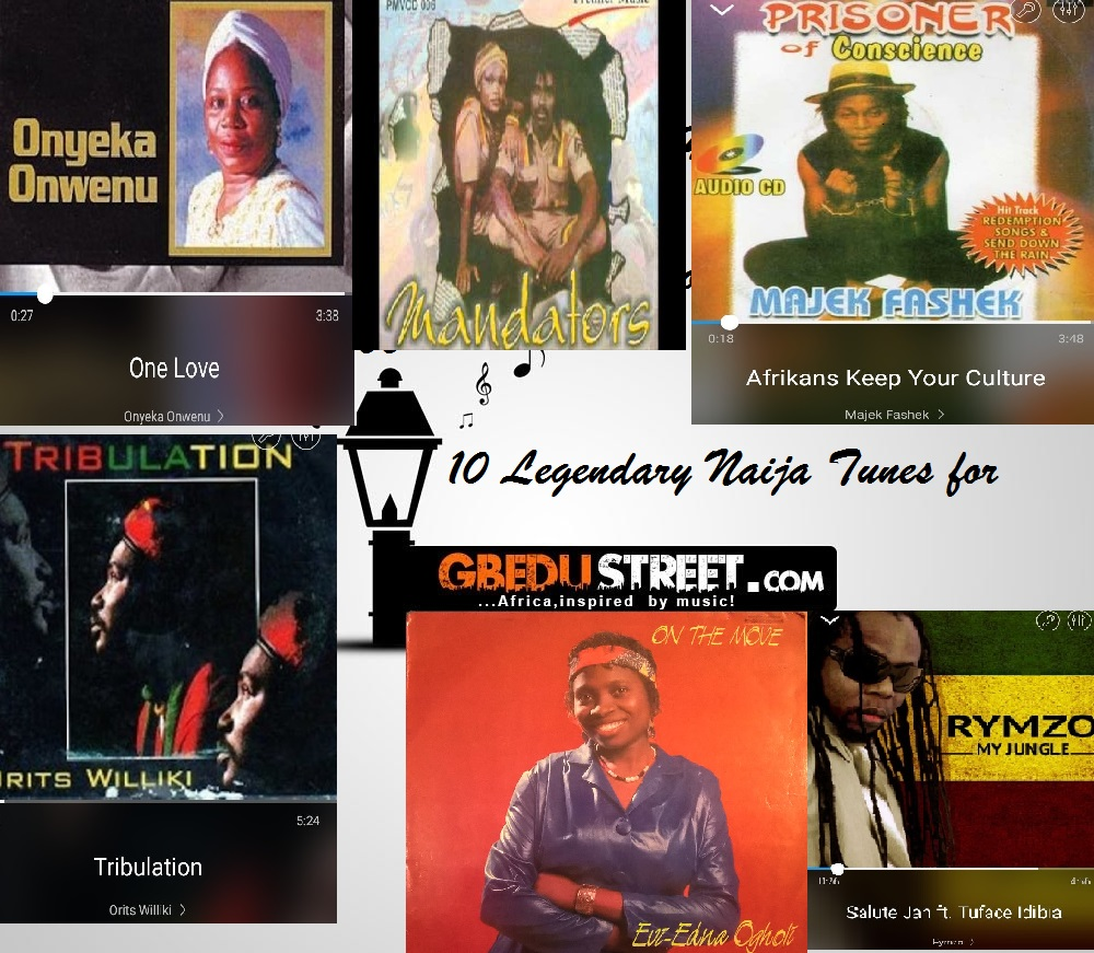 It's #ThrowbackThursday- 10 Old School Nigerian Hits to
