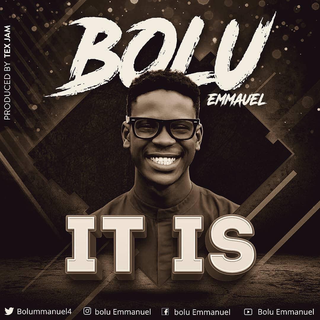 """Bolu Emmanuel Street themed Gospel in Vibes """"It Is"""""""