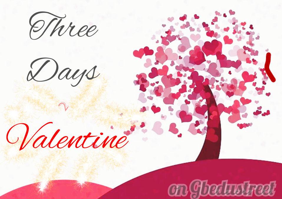 THREE DAYS to VALENTINE (Part 3)