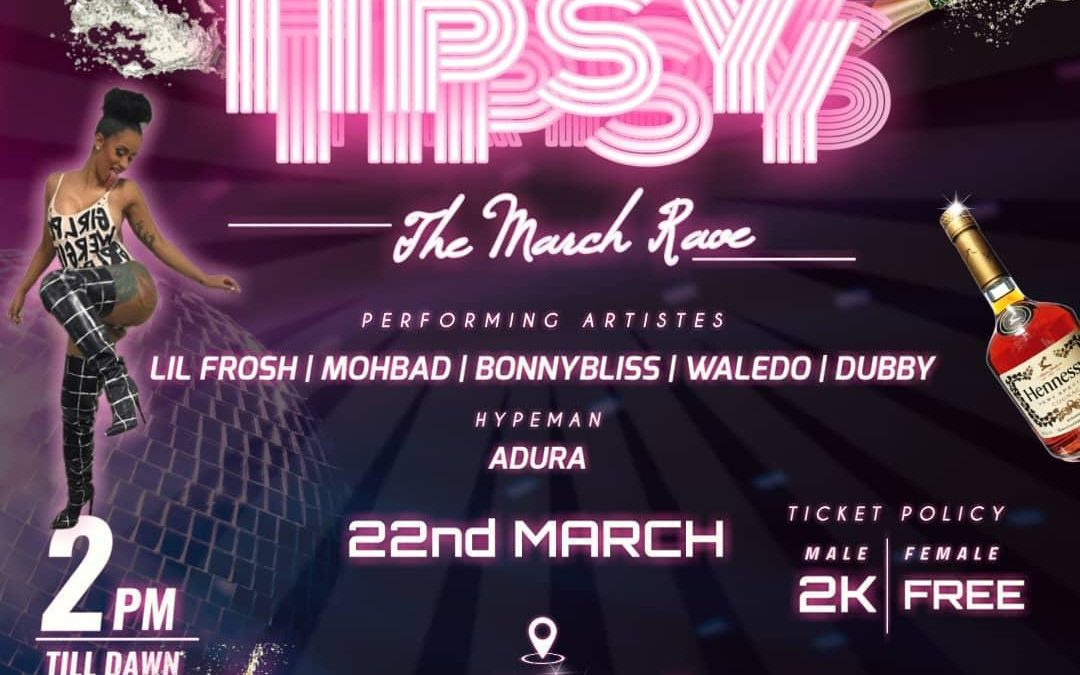 TIPSY : The March rave live at Club Royale