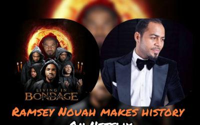 Popular Nollywood veteran makes history as Netflix buys his movie.