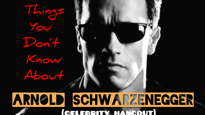 """Things you didn't know about Arnold Schwarzenegger  """"Commando"""" (celebrity hangout)"""
