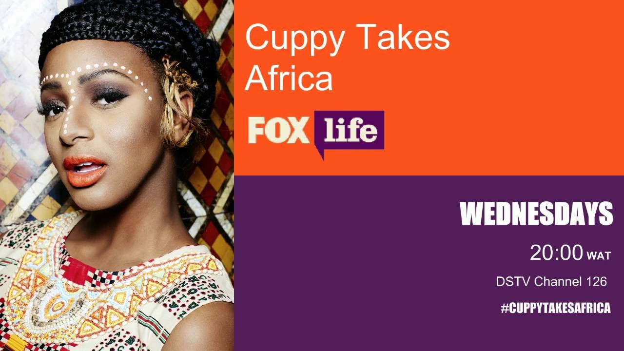 CUPPY TAKES AFRICA ON FOXLIFE TV