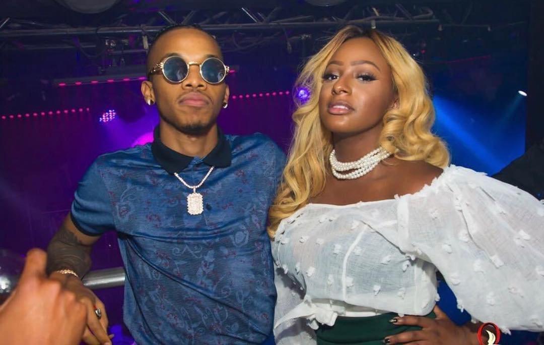 DJ Cuppy and Tekno Miles