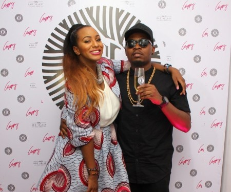 DJ Cuppy and Olamide