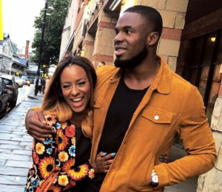 DJ Cuppy and Victor Anichebe