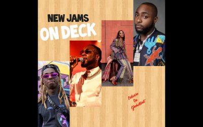 New jams on deck -weekend playlist-