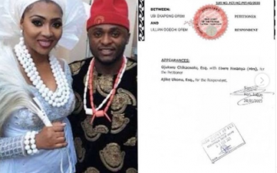 Ubi Franklin and Lilian Esoro's marriage officially dissolved.