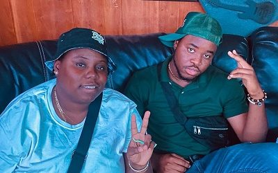 CELEBRITY GIST: Cassio Spotted Chilling With Nigerian Music Artist, Teni